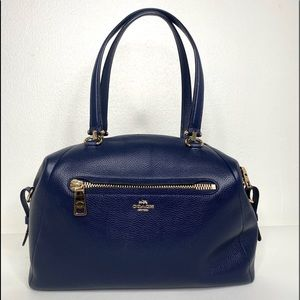 COACH PEBBLED PRIMROSE SATCHEL